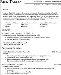 Sample Resume For College Student Seeking Internship by Sample Resume For Computer Science Student Gallery Creawizard Com