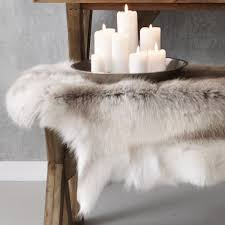 Reindeer Hide Rug Reindeer Skin Rug Featured On My Blog The Style Files See U2026 Flickr