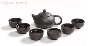 tea set 2018 wholesale smart purple clay teaset orginal handmade yixing