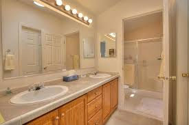 Traditional Vanity Lights Traditional 3 4 Bathroom With Vanity Light U0026 Limestone Tile In