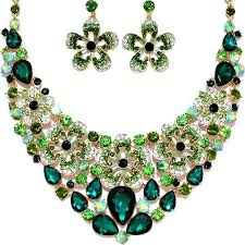 green crystal necklace set images 518 best wedding jewelry bridal jewelry prom jewelry party jpg