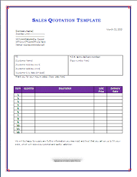 quotation template free sales quotation template free microsoft word templates