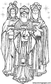 Three Wise Men Christmas Coloring Pages 11 Png Nativity Ideas Wise Worship Coloring Page