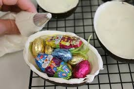hollow chocolate egg mold how to make hollow chocolate easter eggs