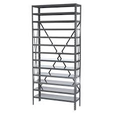 Stackable Wire Shelves by Stackable Storage Bin Racks Pick Rack Systems Wire Shelving