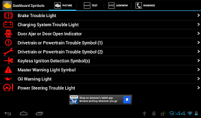 warning lights on bmw 1 series dashboard vehicle dashboard symbols android apps on play