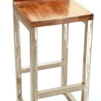 Industrial Metal Bar Stool Furniture Tolix Metal Bar Stools With Back And Hardwood Seat