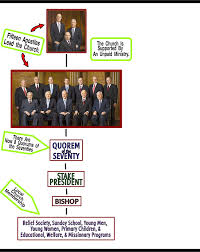 organization of the mormon church