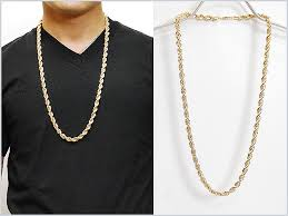 rope chain necklace men images Solt and pepper rakuten global market no brand rope chain jpg