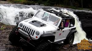 jeep rebelcon axial racing scx10 wrangler unlimited manuels river exploring