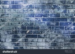 abstract psychedelic dark blue brick wall stock photo 344970836