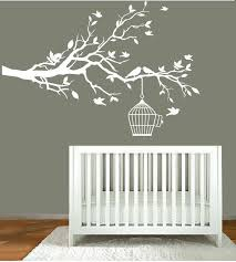White Tree Wall Decal For Nursery Modernwalldecal Vinyl Wall Decals Nursery White Tree Branch