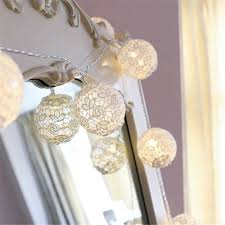 Battery Run Fairy Lights by Online Shop 2017 New White Lace Crochet Ball 10led Fairy Lights