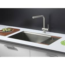 ruvati rvh8300 undermount ledge 16 gauge 32 u2033 kitchen sink single
