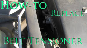 belt tensioner replacement 2003 to 2008 toyota corolla matrix vibe