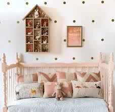 personalisable colour dots wall stickers set of 40 by little baby gold