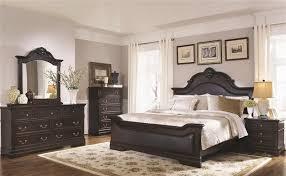 coaster bedroom set 6 piece bedroom set in cappuccino finish by coaster 203191