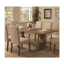 Pedestal Dining Table Rectangle Picket House Furnishings Trestle Dining Table