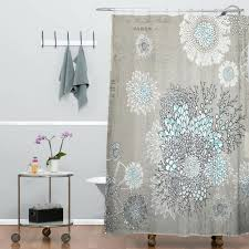Shower Curtain Nautical Flower Drops Shower Curtain U2022 Shower Curtain