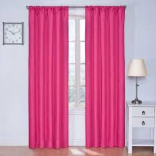 Pink And Navy Curtains Curtain Curtain Eclipse Blackout Kendall Raspberry Panel In Pink