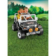 jeep christmas ornament power wheels black tough talkin u0027 jeep 12 volt battery powered ride