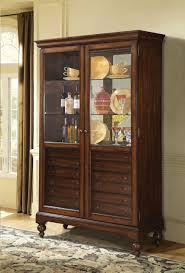 Cherry Wood Curio Cabinet Curios