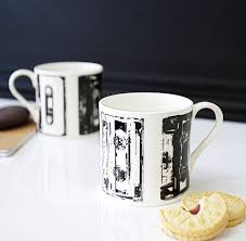 mug design for him musicality cassette design mug by betsy benn notonthehighstreet com