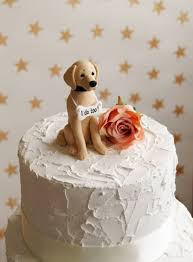 golden retriever cake topper dog wedding cake topper dog