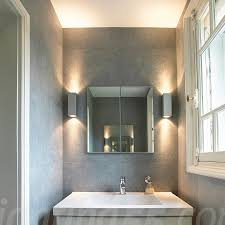 theo up down wall light silver grey by slv lighting at