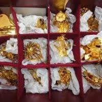danbury mint gold ornaments decore