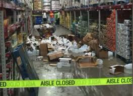 Sams Area Rugs by Walmart Investigating After Pallet Of Water Falls On Boy 4 At