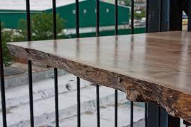 Walnut Slab Table Live Edge Wood Slab Tables And Furniture Re Co Bklyn