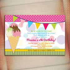top 19 ice cream birthday party invitations theruntime com