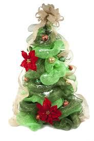 deco mesh christmas tree a c moore