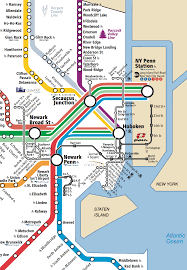 Map Of Northeast Nj Transit Map Nj Transit Map Nj Transit Maplewood Nj Transit