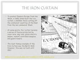 Iron Curtain Political Cartoon Starter What Is The Message Of This Source Who Do You Think Wrote
