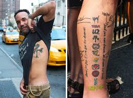 u2 tattoos fans in unique exhibition