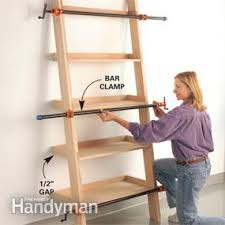 leaning tower of shelves family handyman