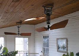belt powered ceiling fan fan belt driven wooden blade mahogany cedar woolen my home
