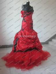 gothic wedding dresses red and black weddingcafeny com