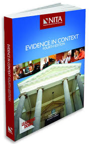 lexisnexis questions and answers evidence evidence in context steve lubet richard moberly robert burns
