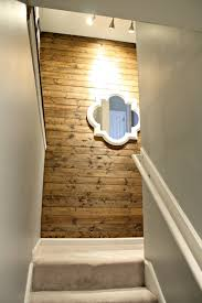 my new favorite wood planked wall from thrifty decor