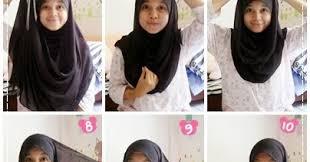 tutorial hijab pashmina untuk anak sekolah tutorial hijab paris untuk pelajar smp sma kumpulan contoh kreasi