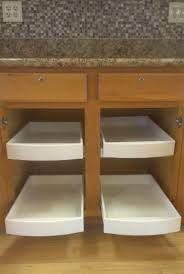 awesome sliding shelves for kitchen cabinets with cabinet pull out