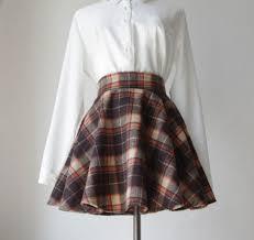 Wool Skirts For Winter Plaid Wool Skirt Dress Ala