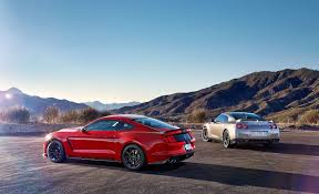 lexus rc f vs mustang gt godzilla vs voodoo child nissan gt r takes on ford mustang shelby