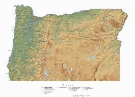 Oregon Maps by Oregon Geology And Geography Unit Oregon Agriculture In The