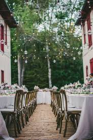 Outdoor Cafe Lighting by Overhead Wedding Design And Decor United With Love