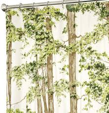 Tree Curtain Unique Shower Curtains In Beautiful Fabrics