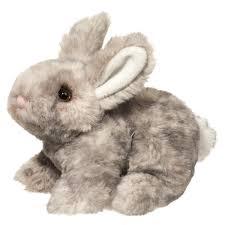 bunny plush plush gray bunny douglas stuffed safari
